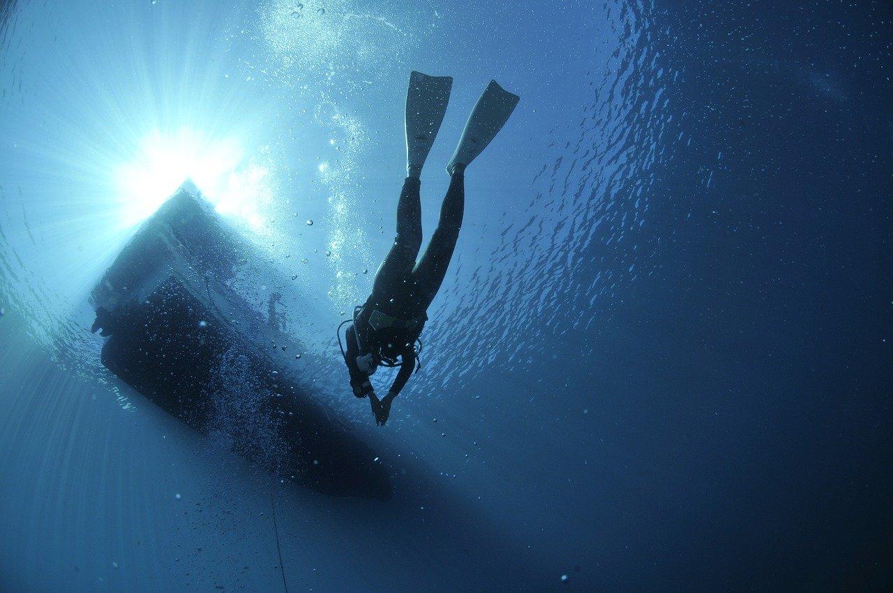 diving, divers, sea